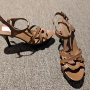 Platform sandle with stilleto heel